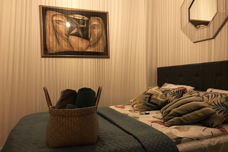 A – sypialnia